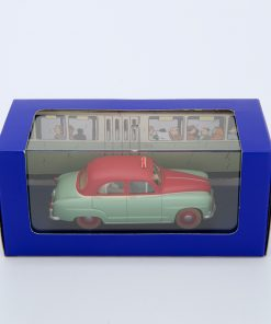 Green Red Simca Taxi3