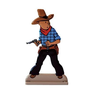 Hand Painted Metal Figure – Cowboy1