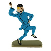 Hand Painted Metal Figure -