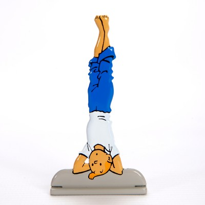 Hand Painted Metal Figure – Tintin and the Picaros1
