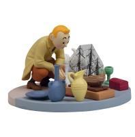 Plastic Coffret - Tintin Flea Market