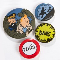 Set of 4 Badges - The Calculus Affair1