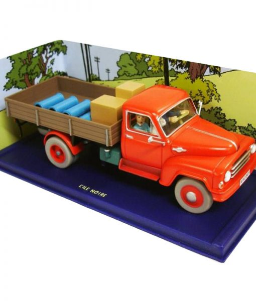 tintin—editions-atlas—n–61-mint-in-box-red-truck-from-black-island-p-image-268999-grande