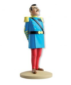 collectible-figurine-tintin-general-alcazar-uniform-13cm-booklet-n42-2013