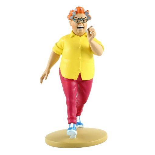 collectible-figurine-tintin-peggy-alcazar-13cm-booklet-n79-2014