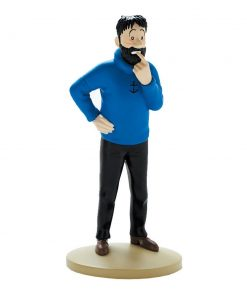 collectible-figurine-tintin-haddock-doubtful-13cm-booklet-n02-2011