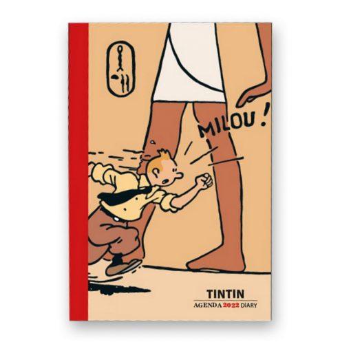 Hergé-Agenda-de-poche-2022-Noir-et-blanc-et-couleurs-Papeterie-civile-Amazonie-BD